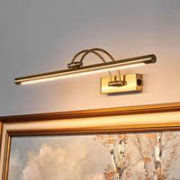 Lucande Dimitrij LED schilderijlamp, gebogen