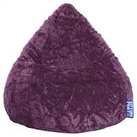 Sitting Point BeanBag Fluffy XL - Aubergine