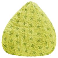 Sitting Point BeanBag Fluffy Stars XL - Groen