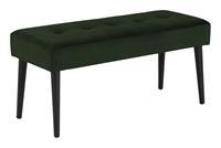 Bendt HalbankjeKiara' Velvet, kleur Forest Green