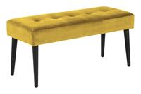 Bendt HalbankjeKiara' Velvet, kleur Yellow