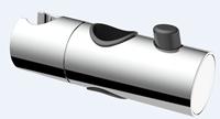 AquaVive schuif voor glijstang 25mm chroom