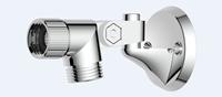 AquaVive handdouchehouder multi chroom