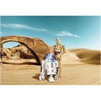Praxis Fotobehang Star Wars lost droids