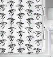 Spirella douchegordijn Nature Design zwart 180cm