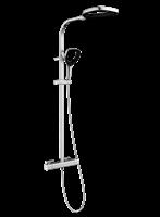 AquaVive doucheset Vomano met kraan chroom