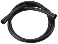 AquaVive doucheslang PVC 150cm mat zwart
