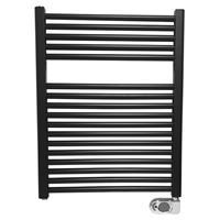 Wiesbaden Elara elektrische radiator 76.6x60cm mat zwart 41.3590