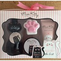 Eigen merk Miss Kitty giftset purrfect pampering