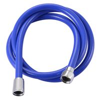 AquaVive doucheslang PVC 150cm blauw