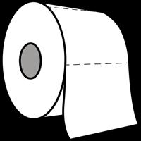 Praxis Edge toiletpapier tweelaags cellulose 40x400 vellen