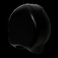 Praxis Edge toiletpapierdispenser Mini Jumbo zwart