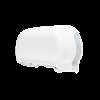 Praxis Edge toiletpapierdispenser Twin Coreless wit