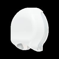 Praxis Edge toiletpapierdispenser Mini Jumbo wit