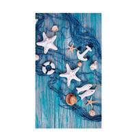 Good Morning strandlaken Kevin (100x180 cm) Blauw