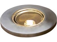 konstsmide Terassisetti 7480-000 Inbouw buitenlamp G4 LED RVS (geborsteld)