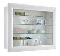 fdfurniture Vitrine Hangkast Bora 63 cm breed - Wit