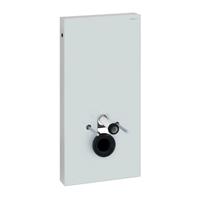 Gelco Geberit module voor wandcloset Monolith 101cm glas wit