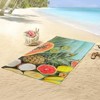 Good Morning Strandlaken FRESH FRUITS 100x180 cm meerkleurig