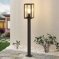 Lindby Filimon tuinpadverlichting donkergrijs E27