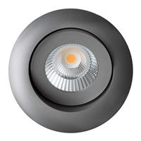 THE LIGHT GROUP Quick Install Allround 360° spot antraciet 4.000 K