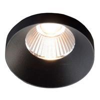 THE LIGHT GROUP GF design Owi inbouwlamp IP54 zwart 3.000 K