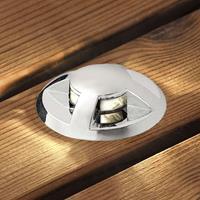 Konstmide Uitbreiding grondspotlamp Mini per 3,gewelfd