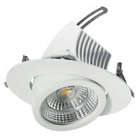 EGG Draaibare LED inbouwspot 20 cm, 48 W