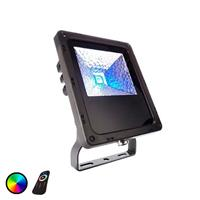 Deko-Light IP65 - LED-buitenspot Flood Color RF-10 - 10W