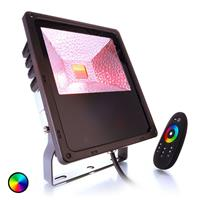 Deko-Light Sterke LED-buitenspot Flood Color RF II 60 RGB
