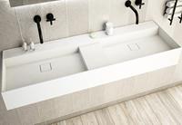 ssidesign SSI Design Solid Blinc 150 wastafel 150x45x16cm mat wit