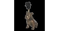 Clayre & Eef Lampenvoet hond 24x24x35 cm 6LMP652