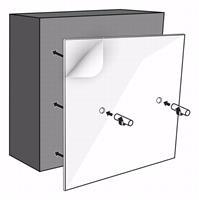 Looox BoX montageset opbouw voor colourbox 60x30 cm