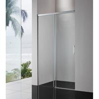 Royal Plaza Sway softclose schuifdeur 160x200cm zilver glans-helder clean 49254