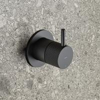 Hotbath Cobber X afbouwdeel voor 2-weg omstel mat zwart CX011EXTBL