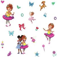 roommates muurstickers Fancy Nancy vinyl 21 stuks
