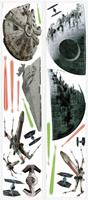 roommates muurstickers star wars junior vinyl 21 stuks
