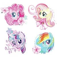 roommates muurstickers My Little Pony vinyl 4 stuks