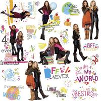 roommates muurstickers Girl Meets World vinyl 24 stuks