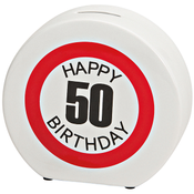 Spardose Happy Birthday 50