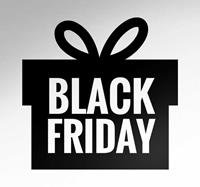 tenstickers Muursticker Black Friday Cadeau