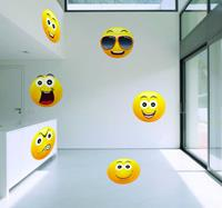 tenstickers Emoticons smileys sticker