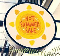 tenstickers Hot summer sale zon sticker