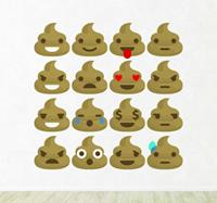 tenstickers Whatsapp emoticons drollen smileys