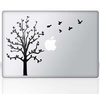 tenstickers Sticker Laptop Macbook Boom vogels