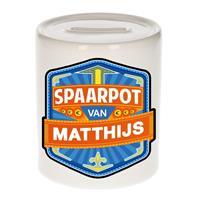 Bellatio Kinder spaarpot voor Matthijs - Spaarpotten