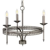 Elstead Kroonluchter Crown 3-lamps