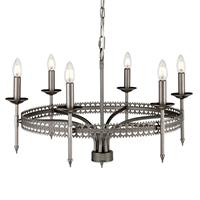 Elstead Kroonluchter Crown 6-lamps