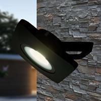 Heitronic LED schijnwerper Bolton zwart 50 W