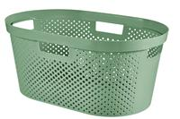 Curver infinity wasmand dots 40 liter groen